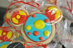 Mickey Toodles cookies.  Ashley, I thought of you and Sophie when I saw these