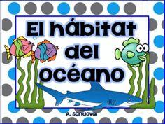 Ocean Habitat in Spanish
