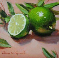 Лимон #OilPaintingFood