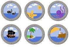 Pirate ship portholes!