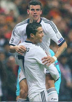 Ronaldo and Bale Pictures | Bale-Ronaldo