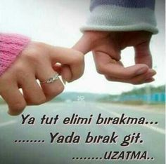 Learn Turkish, Holding Hands, Love Quotes, Learning, Istanbul, Places, Qoutes Of Love, Quotes Love, Studying