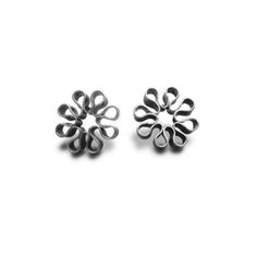 Aretes Flor Orgánica 1
