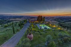 villa with private pool in Montaione, Florence