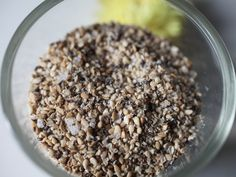 Sesame salt Soup And Sandwich, Vegetarian Recipes, Oatmeal, Sandwiches, Salt, Dishes, Breakfast, Blog, The Oatmeal