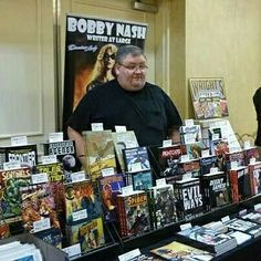 #throwbackthursday to one of my appearances at the #AtlantaComicConvention I'm returning for the next #ACC this Sunday, August 14th for a day of fun and comics. I hope to see you there. www.atlantacomicconvention.com #TBT