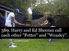 Harry and Ed