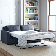 It's always fun for friends and family to stay over and spend the night, but it's difficult to have a dedicated guest bedroom for just those few times a year, especially for those of us in small city apartments. That's why we love how the sleeper sofa can instantly transform a living room or office into a guest bedroom. Check out some favorite sleeper sofas that are the perfect combination of form and function.