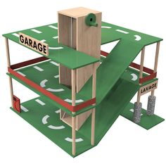 fabriquer le garage Carbag