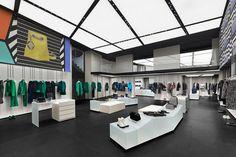 Emporio Armani store renewal by Giorgio Armani, Paris – France