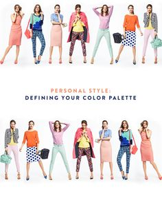 Personal Style: How to Define Your Signature Color Palette. I've always loved the idea of having a personal palette.