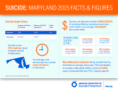 Maryland Suicide Fact Sheets