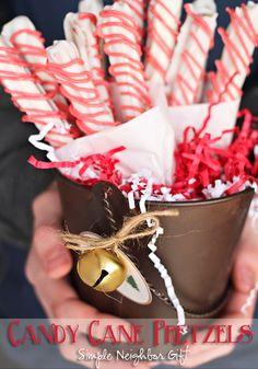 Candy Cane Pretzel N