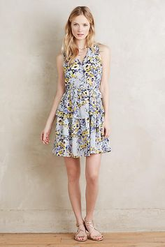 Avenida Ruffled Dress - anthropologie.com