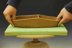 Ceramic Arts Daily: How to make sophisticated pottery forms using the most basic of tools.