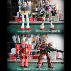 diobrando19:  Saw this in my FB feed earlier, and honestly, I'm amazed with the advancements made in toy plastic and model kit production. All the detail that's been crammed in a toy that scale is quite impressive honestly. :D #Gundam #Toys