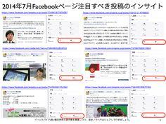 2014年7月度Facebookページ投稿いいね数ランキング20 http://yokotashurin.com/facebook/201407_page.html