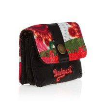 Desigual Porte-monnaie Small Wallet Floreada multicolore