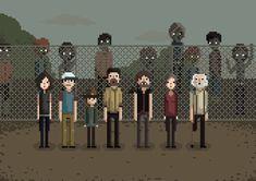 30 Inspirational 8-Bit and Pixel Artworks