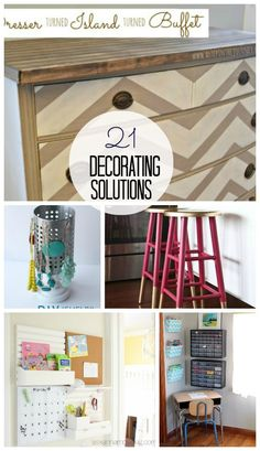 20 Decorating Solutions from Tatertots & Jello