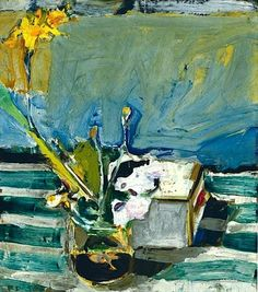Richard Diebenkorn , Still Life with Iris