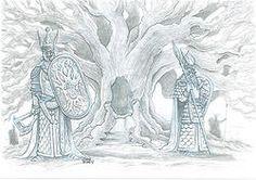 Original: Crónicas de Gaidil #15. Original realizado en 2007, para el libro de rol Crónicas de Gaidil. Puedes comprarlo en www.victorrivasillustration.com