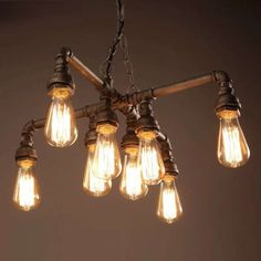 Twinkle Antique Bronze 18-inch Edison Light Chandelier with Bulbs - Free Shipping Today - Overstock.com - 20035096 - Mobile