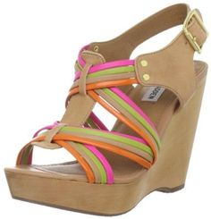 Amazon.com: Steve Madden Womens Tampaa Wedge Sandal: Steve Madden: Shoes