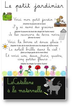Line Up Chants, French Language, Preschool, Science, Words, French Tips, Kids Songs, Nursery Rhymes Kindergarten, Nanny Activities