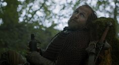 Game of Thrones Season 3 Episode 6. Thoros is an awesome character.