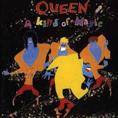 A Kind of Magic is the twelfth studio album by the British rock band Queen, released on June 1986 by EMI Records in the UK and by Capitol Records in the US. It was their first studio album to be recorded digitally, and is based on the soundtrack t Discografia Queen, Queen Band, Queen Album Covers, Rock Album Covers, A Kind Of Magic, Magic S, Brian May, John Deacon, Lps