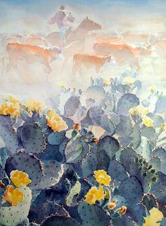 Brad Braune watercolors