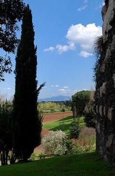 Appia Antica - Tomba di Cecilia Metella - Campagna Romana