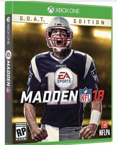 Tom Brady is the cover athlete of Madden 18! What do you guys think!? Do you believe in the #maddencurse ? - #nfl #nfl #nflmeme #madden #maddenmobile #madden18 #maddennfl #nflseason #nflnetwork #nflmemes #footballgame #footballtime #tombrady12 #tombrady #brady #patriots #patriotsnation #patriotsmeme #goat #fantasy #fantasylife #fantasyfootball #fantasyfootballmeme #maddennfl #billbelichick #newenglandpatriots