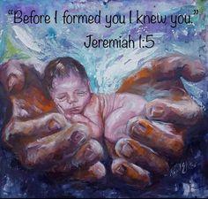 Before I formed you in the womb I knew you. Baby In Womb, Birth Art, Pregnancy Art, Jesus Art, Prophetic Art, Biblical Art, Black Women Art, Baby Art, Religious Art