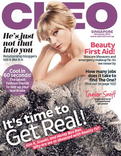 Taylor Swift for Cleo Singapore November 2014