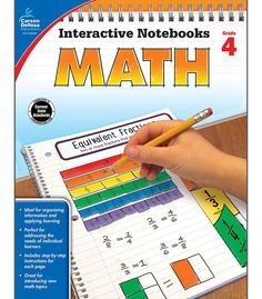 Time-Saving interactive notebook templates that allow students to show what they know! In Interactive Notebooks: Math for fourth grade, students will complete hands-on activities about place value, mu