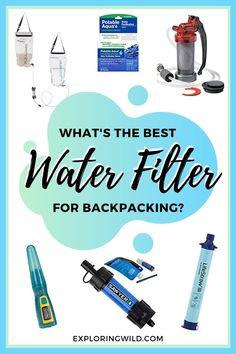 Guide to Safe Backcountry Drinking Water - Learning how to safely filter water in the backcountry is one of the most important hiking skills a - Best Hiking Gear, Backpacking Tips, Hiking Tips, Camping And Hiking, Kayak Camping, Ultralight Backpacking, Winter Camping, Best Water Filter, Camping Water Filter