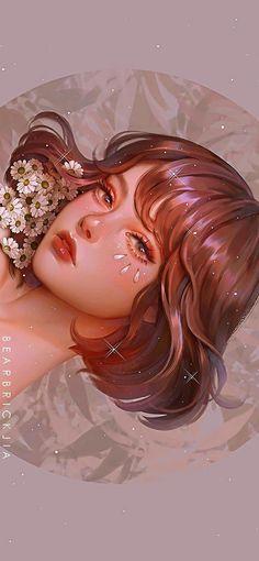 Cartoon Girl Drawing, Girl Cartoon, Pretty Art, Cute Art, Arte Sketchbook, Art Et Illustration, Digital Art Girl, Cartoon Art Styles, Anime Art Girl