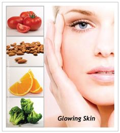 Eat to get perfect glowing skin!