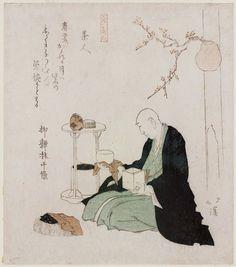 """baisao: """"Tea master, Totoya Hokkei info """""""