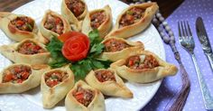 Deliciosas empanadillas árabes de carne y verduras Fatayer paso a paso