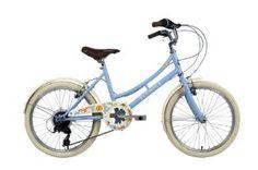 Elswick Girls' Cherish 20 Inch Heritage Bike - Baby Blue, 7-9 Years: Amazon.co.uk: Sports & Outdoors