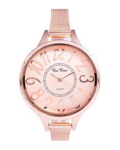 Rose Gold Minimalist Watch