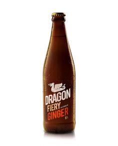 Dragon Fiery Ginger and Apple - Miles For Style Beer Subscription, Dad Crafts, Beverages, Drinks, Ginger Beer, Brewing Co, Hot Sauce Bottles, Craft Beer, Beer Bottle