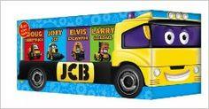 JCB Pull along,  brilliant little books for little toddler hands