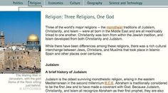 Religion: Three Religions, One God | Social Studies | Classroom Resources | PBS Learning Media