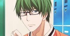 Aaaw *o* <3 <3 <3 Shin-chan so cute  #kurokonobasket #midorima