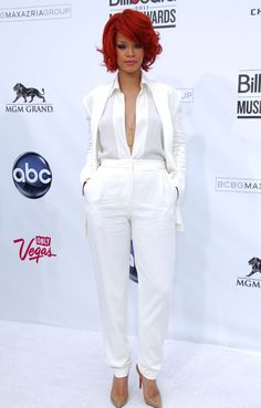 Rihanna Awards, Jumpsuit, Dresses, Fashion, Overalls, Vestidos, Moda, Fashion Styles, Jumpsuits