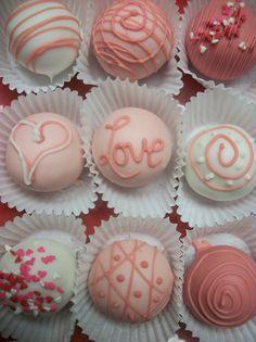 Chocolate Amaretto Truffle cake balls 12 hand by AmedeosBakery